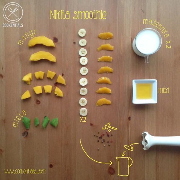 przepis na smoothie