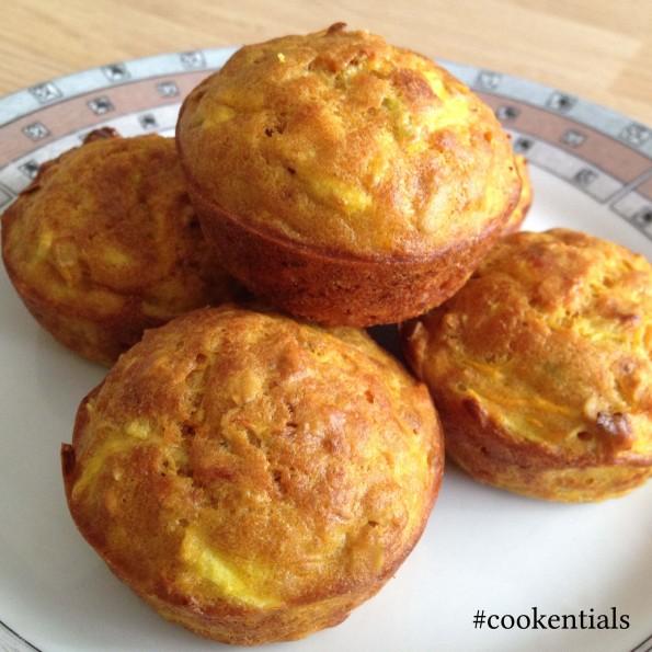 przepis na muffinki warzywne